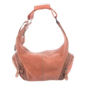 Tod's Karung-Trimmed Suede Hobo